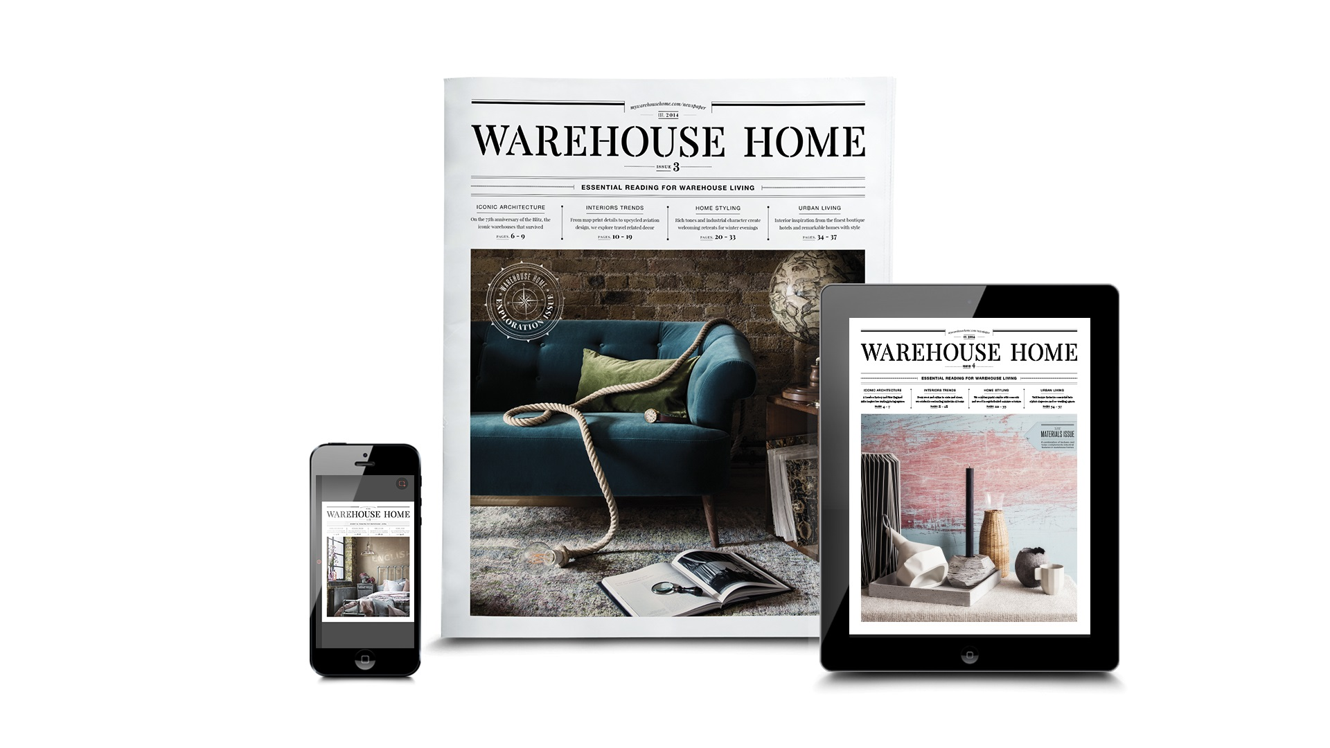 Warehouse Home Print And Digital Magazine